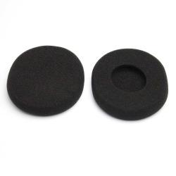 1Pair Replaceable Earphone Ear cushion For Logitech H800 Black