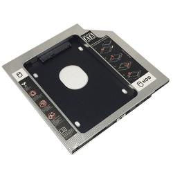 2nd SATA to SATA Laptop Hard Drive DVD Bay Caddy 12.7mm