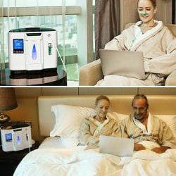 Adjustable Home Oxygen Generator Health Protective Machine