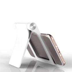Adjustable Portable Desktop Phone Stand Desk Holder White