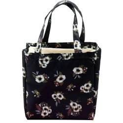 Adult Kid Insulated Lunch Bag Thermal Cooler Lunch Box Flower