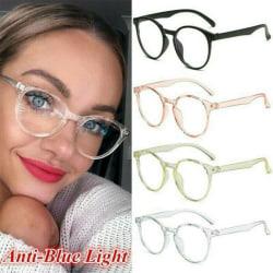 Computer Glasses Anti-Blue Light Filter UV Blocking Eyewear White