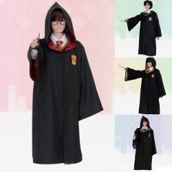 Cosplay Anime Karaktärer Harry Potter-serien Mantel Barn Vuxna Red (Kids) 155cm