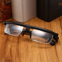 Dial Adjustable Glasses Variable Focus