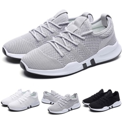 Fashion Mens Sneakers Trainers Breathable Boys Breathable grey 40