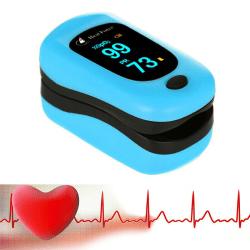 Fingertip Blood Pulse Monitor SpO2 Heart Rate Sports Test