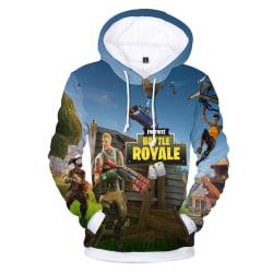 Fortnite Hoodie Youth 3D Printed Sports Hoodies Sweatshirt #14 #14 2XS