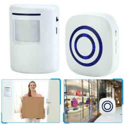 Human Body Sensor Alarm Enters Greeting Doorbell for Store Home
