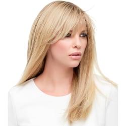 Light Golden Straight Long Hair Wigs Golden