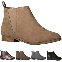 Martin Boots Solid Color Elegant Women Short black 36