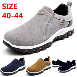 Men Breathable Soft Slip on Sports Outdoor blue 40