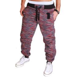 Smala byxor för män Sport Casual Camouflage-byxor