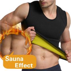 Träningsväst för män Kalorier Bunner Shapwear Top med bastueffekt L