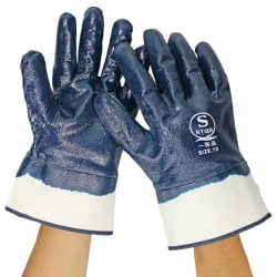 Nylon PU Coated Safety Work Gloves 1 pair