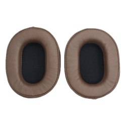 Replacement Earphone Ear Pads Sponge Cushion for Sony ATH MDR Brown