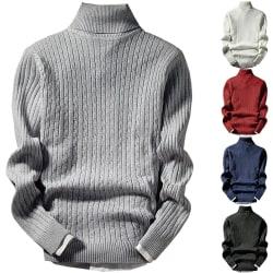 Retro stil trendiga män mode stickad tröja