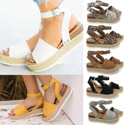 Summer Fashion Female High Heel Sandals Plus brown 43