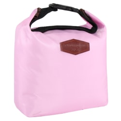 Thermal Portable Insulated Waterproof Cooler Lunch Storage Bag Pink