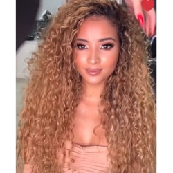 Women Deep Wave Wig Curly Full As pics