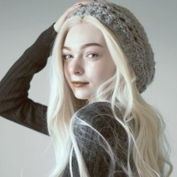 Women Gray Long Curly Hair Ladies Elegant gray