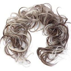 Women Hairpieces Scrunchie Cover Bride Curly Hair Extensions 6PH613