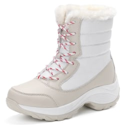Women's Fashion Snow Boots Winter white 39