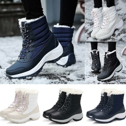 Women's Fashion Snow Boots Winter red 42