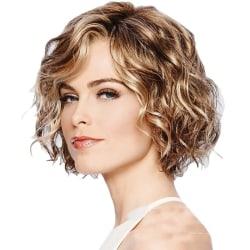 Women's Short Curly Cosplay Brown brown