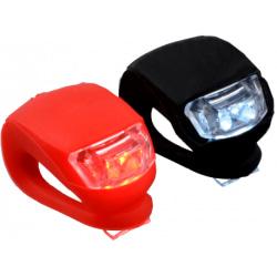 Cykellampa LED | Vattentät | fram- & baklyckta