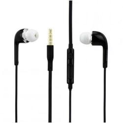 Hörlurar med Mikrofon och Volymkontroll 3.5mm svart