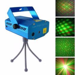 Laserprojektor med röd och grön laser / disco-light