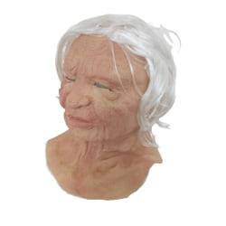 Latexmask - gammal tant
