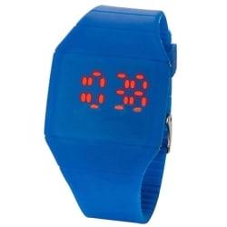 LED Digital Klocka design mörkblå
