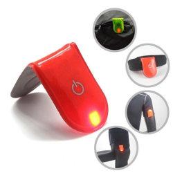 LED running lights / reflexlampa / löparbelysning / Magnetlight rosa