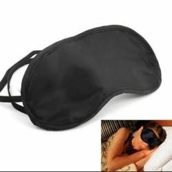Ögonbindel svart 2-pack