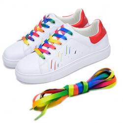 Pride / regnbåge skosnöre