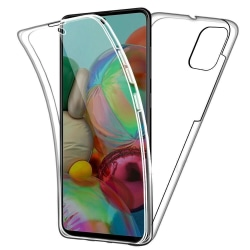 Samsung galaxy A71 Dubbelsidigt 360 silikonfodral
