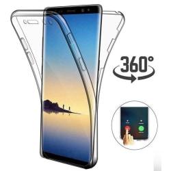 Samsung Galaxy S8 Plus Dubbelsidigt silikonfodral