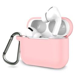 Skyddsfodral i silikon till Apple Airpods Pro - rosa