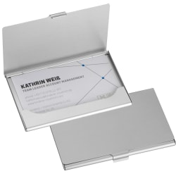 Stilren korthållare i aluminium