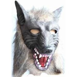 Varg mask / Varghuvud till halloween eller maskerad festen