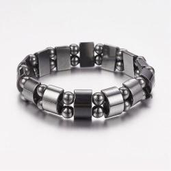 Armband magnetisk hematit elastiskt