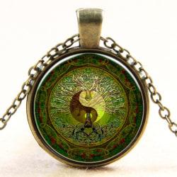 Halsband Yin & Yang - Mandala