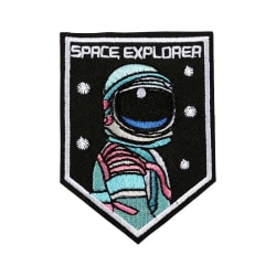 Tygmärke / patch astronaut SPACE EXPLORER
