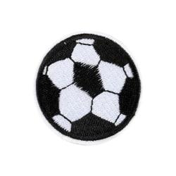 Tygmärke Patch Fotboll 5-Pack