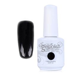 Gellack  Gelpolish Black Beauty