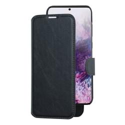 Plånboksfodral med avtagbart mobilskal till Galaxy S20 Plus Svart