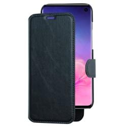 Plånboksfodral med avtagbart mobilskal till Samsung Galaxy S10 P Svart