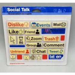 Social Talk Kylskåpsmagneter