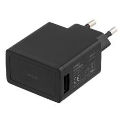 Väggladdare Deltaco 2,1 A USB Snabbladdare